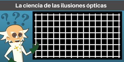 Ilusion óptica cuadrícula