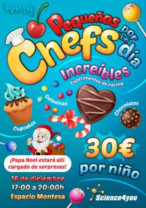 Información Evento Pequeños Chefs por un Día